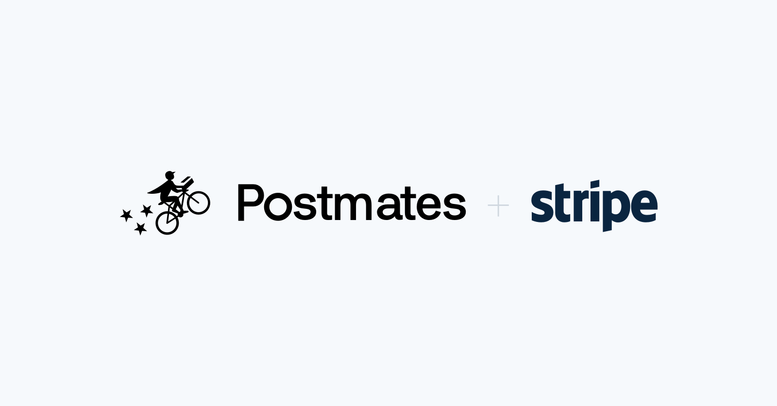 postmates and stripe logos