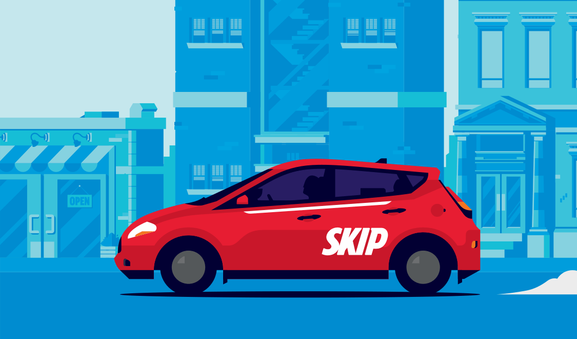 SkipTheDishes and Stripe logo