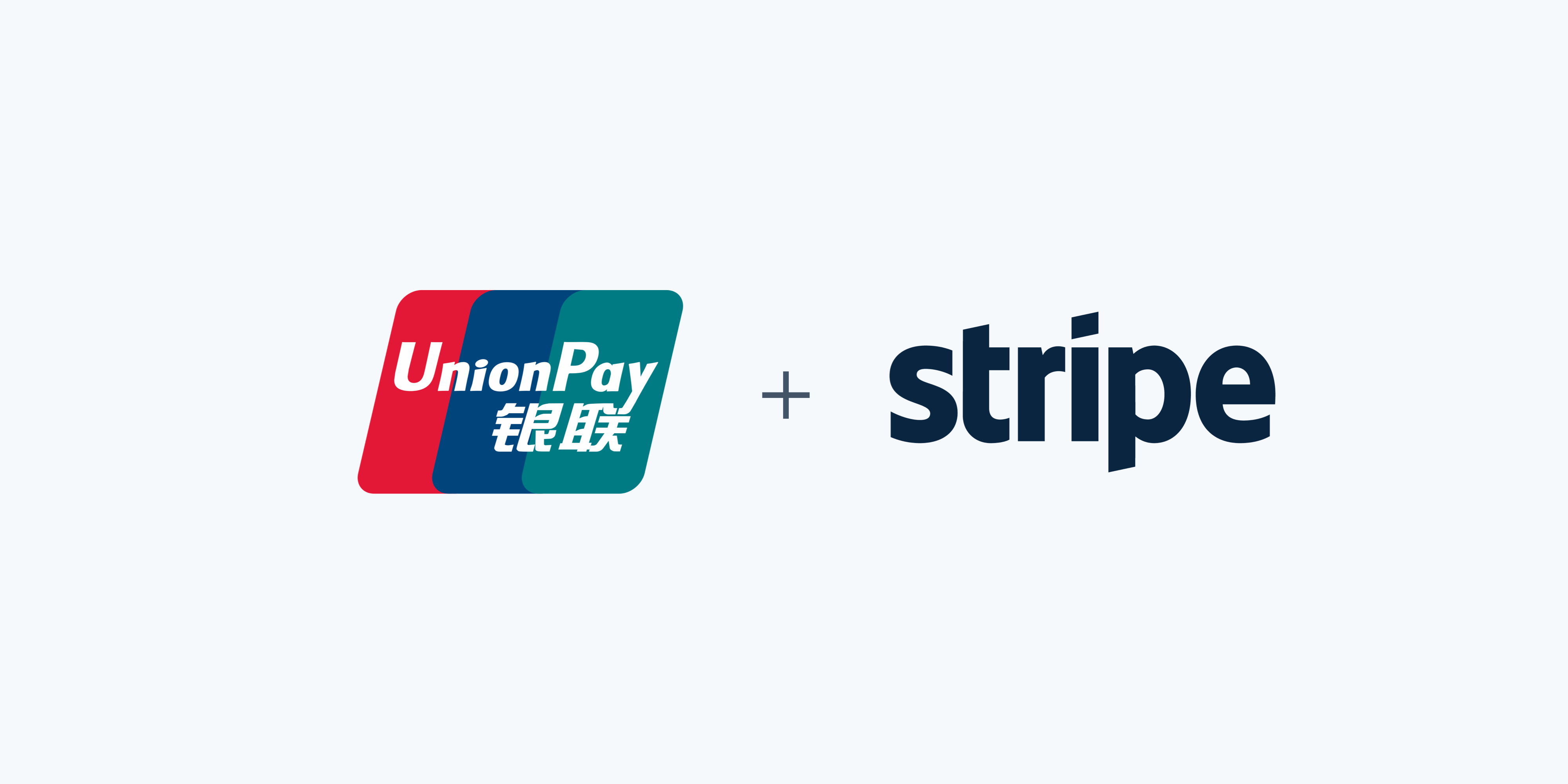 stripe + unionpay